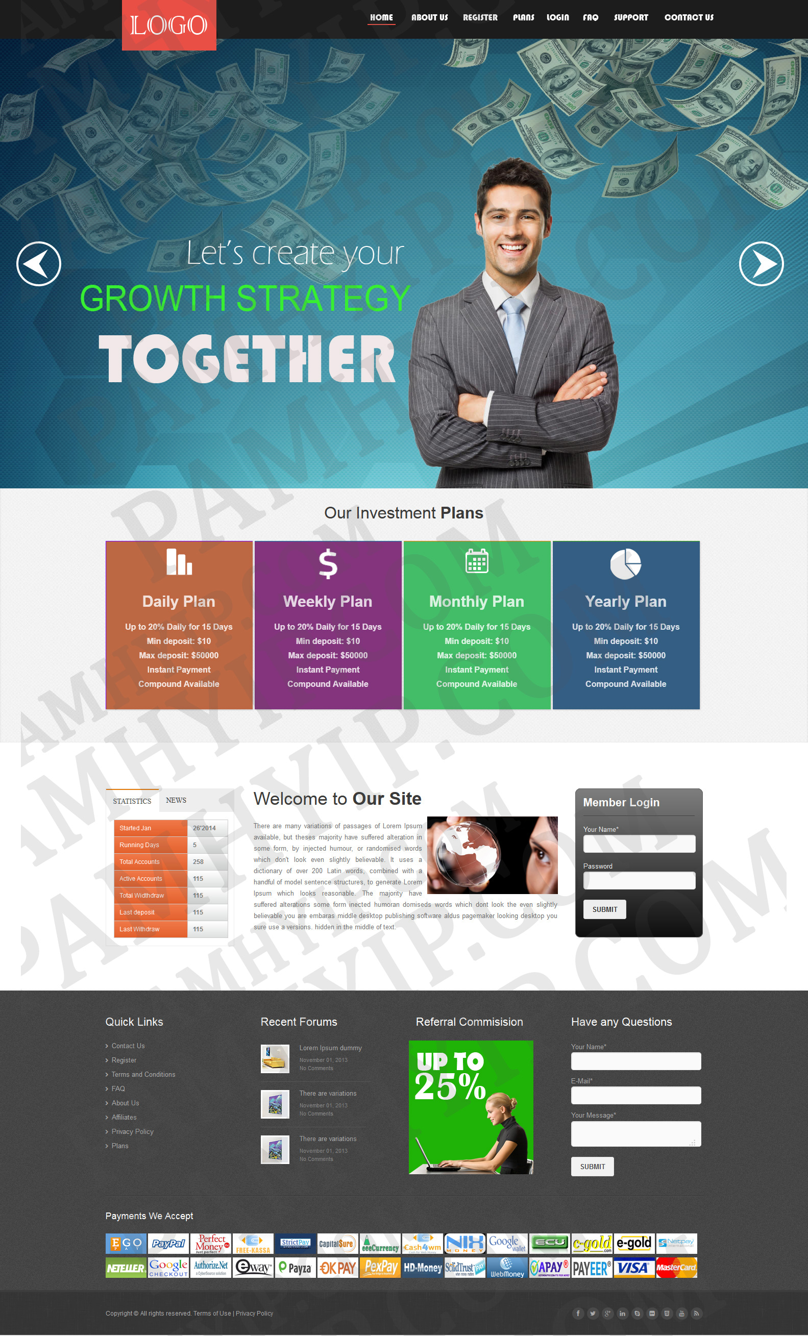 buy hyip template  Best HYIP Website Templates | Buy HYIP Templates Design